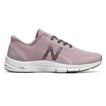 New Balance 711v3 Heathered Trainer, Faded Rose with Castlerock
