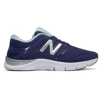 New Balance 女子室内训练鞋 711v2 Heathered Trainer, 藏青色