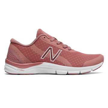 New Balance 711v3 Mesh Trainer, Dusted Peach with White