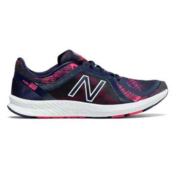 New Balance FuelCore Transform v2 Graphic Trainer, Pigment with Alpha Pink & Vivid Tangerine