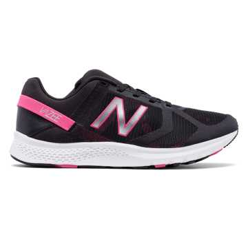New Balance Vazee Transform Mesh Trainer, Black with Alpha Pink