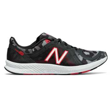 New Balance FuelCore Transform v2 Graphic Trainer, Black with Energy Red & Grey