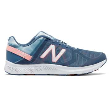 New Balance Vazee Transform Graphic Trainer, Deep Porcelain Blue with Bleached Sunrise