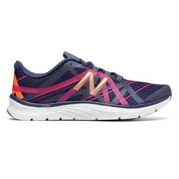 New Balance New Balance 811v2 Graphic Trainer, Vintage Indigo with Alpha Pink & Tangerine