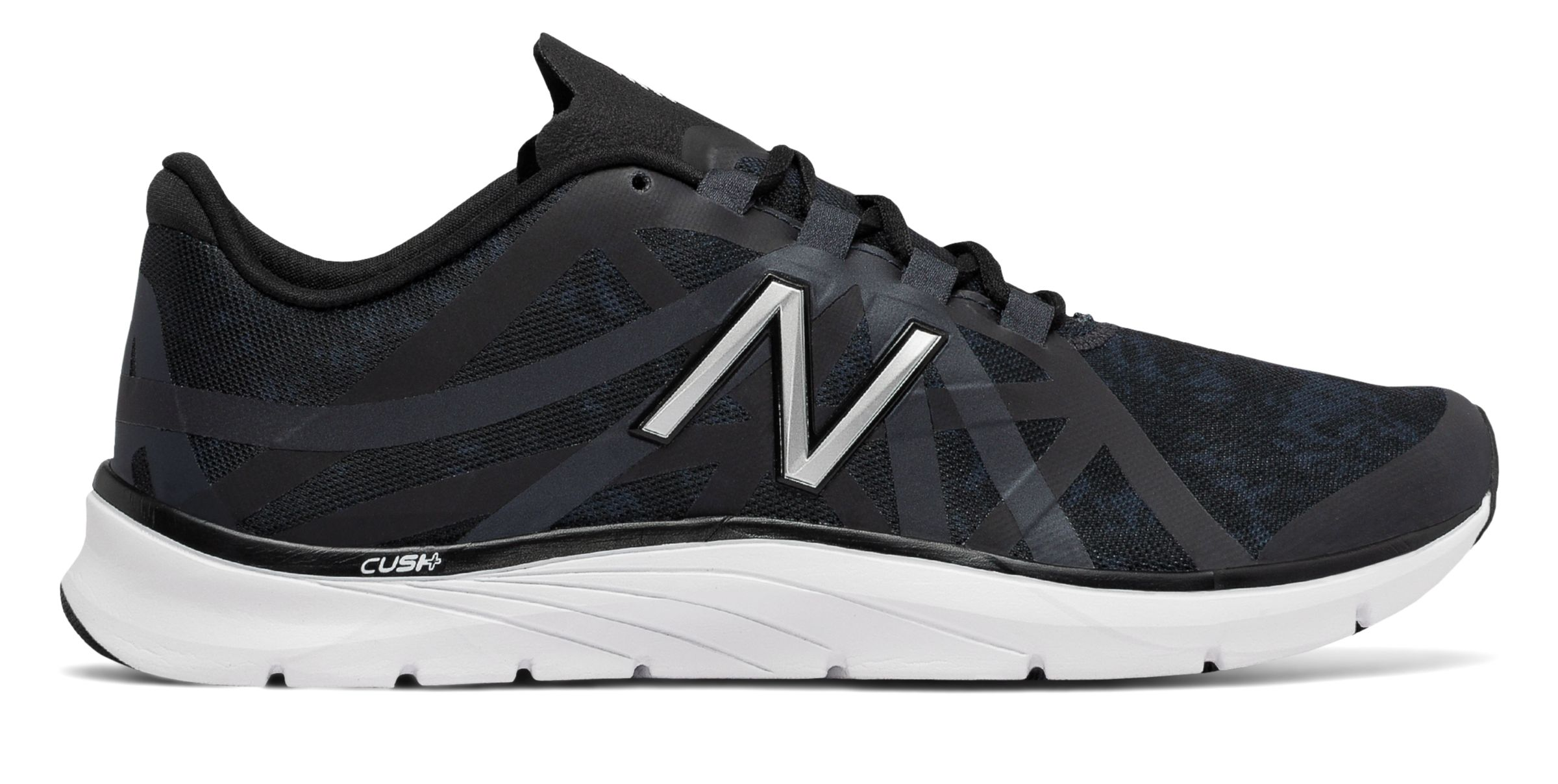 NB New Balance 811v2 Graphic Trainer, Black with Outer Space