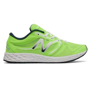 New Balance Fresh Foam 822v3 Trainer, Lime Glo with White & Black