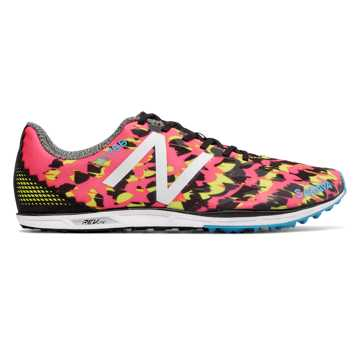 New Balance XC700v4 Spikeless, Pink with Black