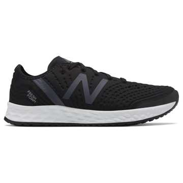 New Balance Fresh Foam Crush, Black with White
