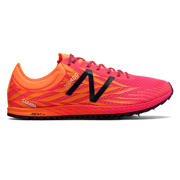 New Balance XC900v4 Spike, Alpha Pink with Vivid Tangerine