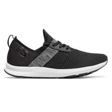 New Balance 运动鞋 女款 轻盈缓震 舒适透气, 黑色