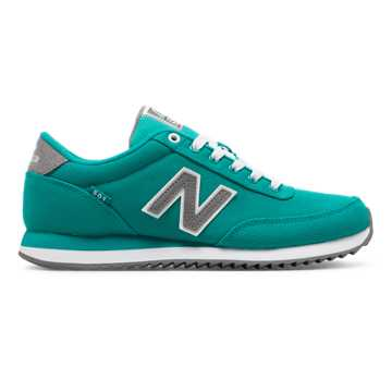 New Balance 501 Ripple Sole, Aquamarine with Gunmetal
