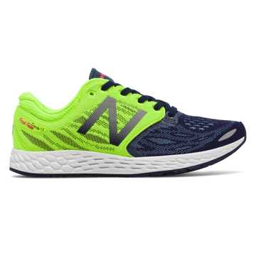 New Balance Fresh Foam Zante v3, Dark Denim with Lime Glo