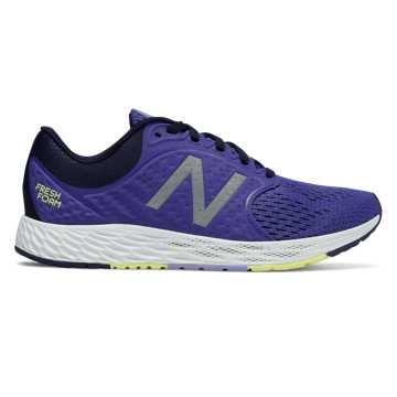 New Balance Fresh Foam Zante v4, Blue Iris with Pigment & Solar Yellow