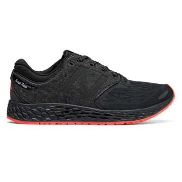 New Balance Fresh Foam Zante v3 Brooklyn, Black with Alpha Orange