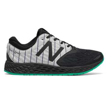 New Balance Fresh Foam Zante v3 Bronx, Black with Deep Jade
