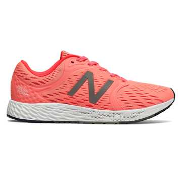 New Balance Fresh Foam Zante v4, Fiji with Vivid Coral & White