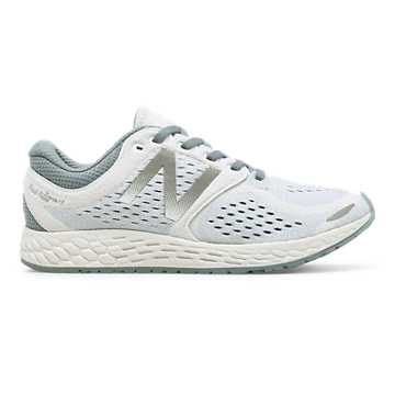New Balance Fresh Foam Zante v3 Breathe, White with Reflection