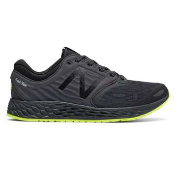 New Balance Fresh Foam Zante v3 Manhattan, Black with Hi-Lite