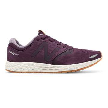New Balance Fresh Foam Zante v3, Aubergine with Sea Salt & Gum