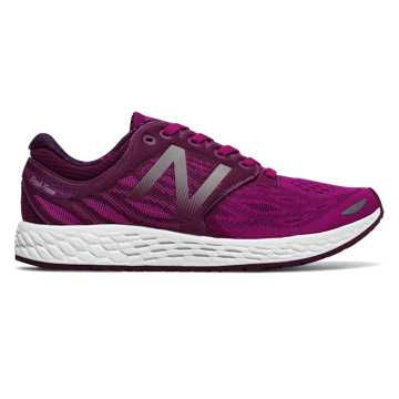 New Balance Fresh Foam Zante v3, Poisonberry with Dark Mulberry & White