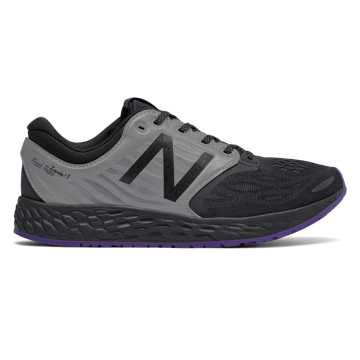 New Balance Fresh Foam Zante v3 Queens, Black with Deep Violet