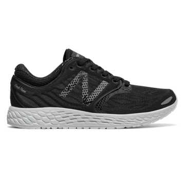 New Balance Fresh Foam Zante v3, Black with Silver & Graphite