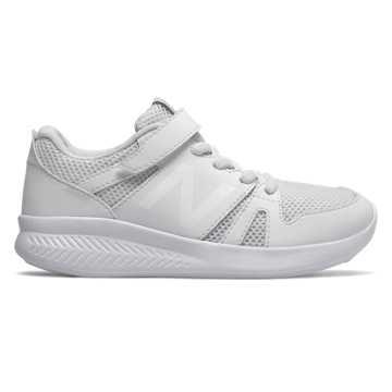New Balance 570儿童休闲运动鞋 透气舒适 轻量缓震, 白色