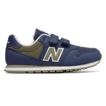 New Balance 500系列 童鞋 稳定缓震 休闲舒适, 深蓝色