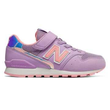 New Balance 996系列 童鞋 柔软舒适 稳固耐磨, 浅紫色