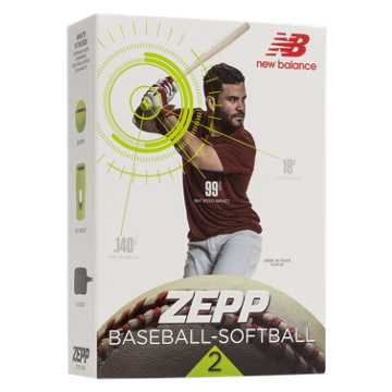 New Balance Zepp Baseball-Softball 2 Swing Analyzer, Yellow