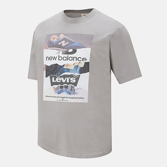 NB New Balance Graphic Tee Shirt x Levis, 26770AG