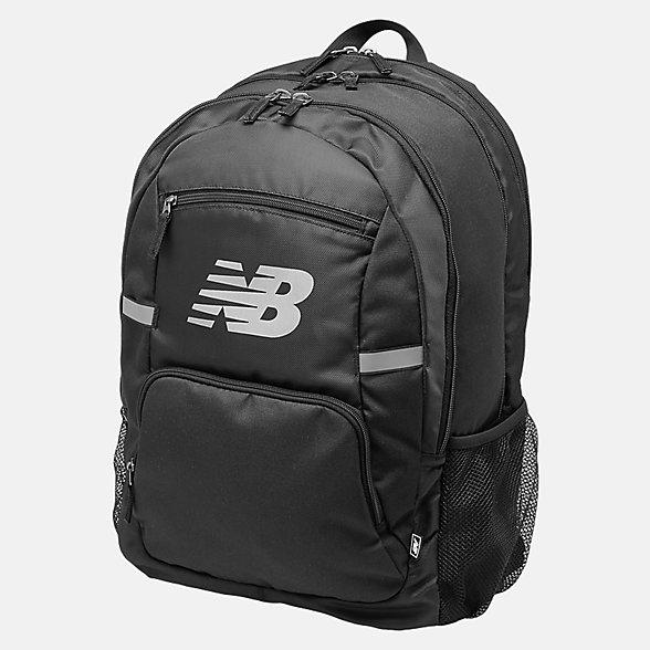 New Balance Accelerator Backpack, 500100BLK