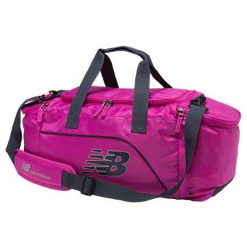 New Balance Small Performance Duffel, Poisonberry