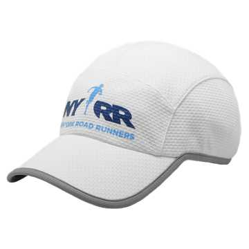 New Balance Run for Life 5 Panel Performance Hat, White