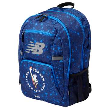 New Balance NYC Marathon Accelerator Backpack, Blue