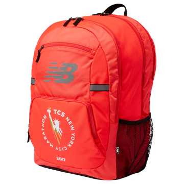 New Balance NYC Marathon Accelerator Backpack, Red