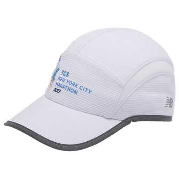 New Balance NYC Marathon 5 Panel Performance Hat, White