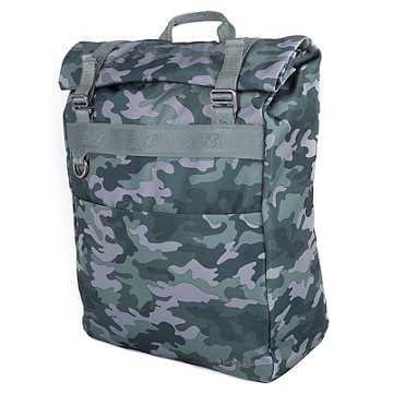 New Balance LSE Roll Top Backpack, Camo Green