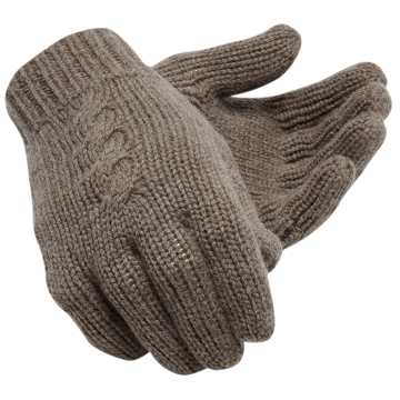 New Balance Womens Luxe Knit Gloves, Dark Dull Grey