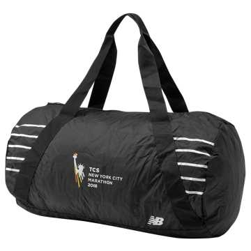New Balance NYC Marathon Packable Duffel, Black