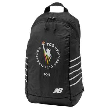 New Balance NYC Marathon Packable Backpack, Black