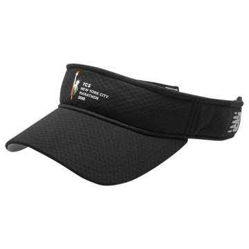 New Balance NYC Marathon Performance Visor, Black