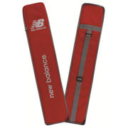 NB Bat Cover Full, Red with Silver