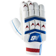 New Balance Burn Gloves, Red with Blue & White