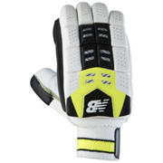 New Balance DC680 Gloves, Yellow with Black