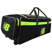 New Balance DC680 Club Wheelie Bag, Yellow with Black