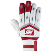New Balance TC460 Gloves, Red with Silver