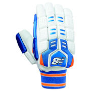 NB DC 1080 Gloves, Blue with Orange