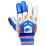 New Balance DC 380 Glove, Blue with Orange