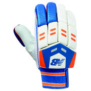 NB DC 480 Glove, Blue with Orange